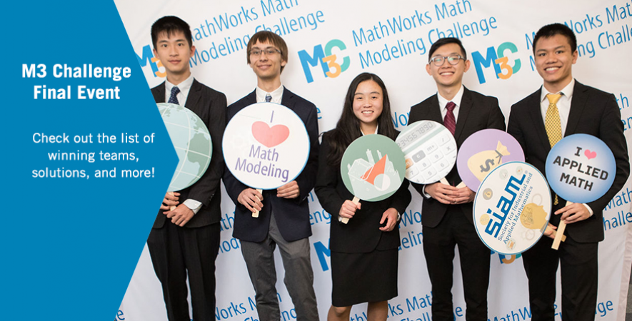 MathWorks Math Modeling Challenge | Society for Industrial